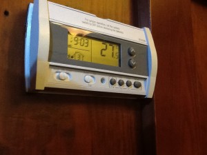 A programmable thermostat saves $$$