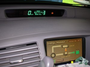 Our dashboard display