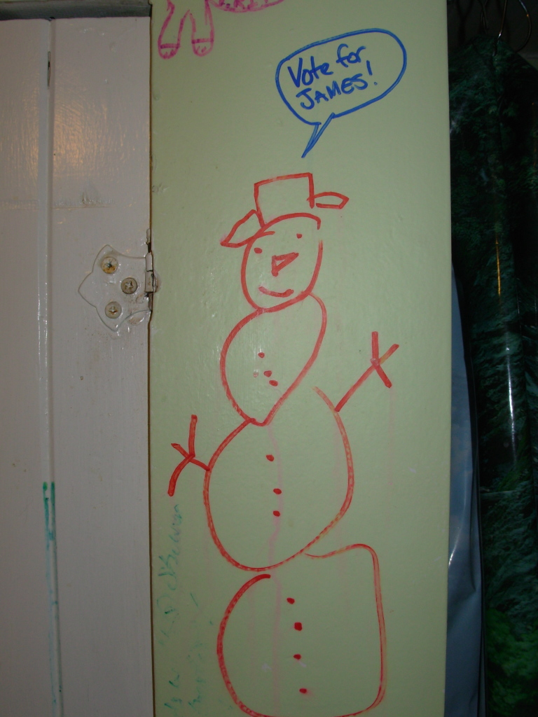 Snowman was too little, too late
