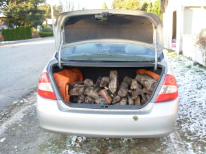 The second trunk load from one neighbour