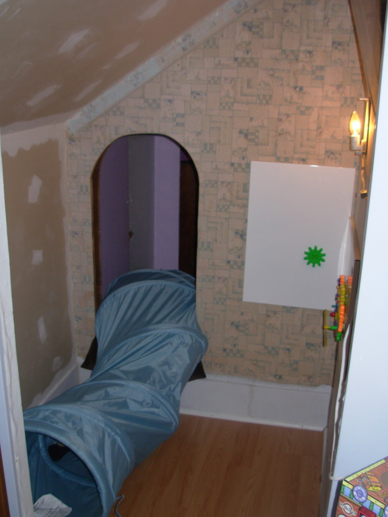 The Secret Passage in the boy's room