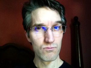 I may be sporting my brand new reading glasses from Pacific Eye Doctors. More gravitas.
