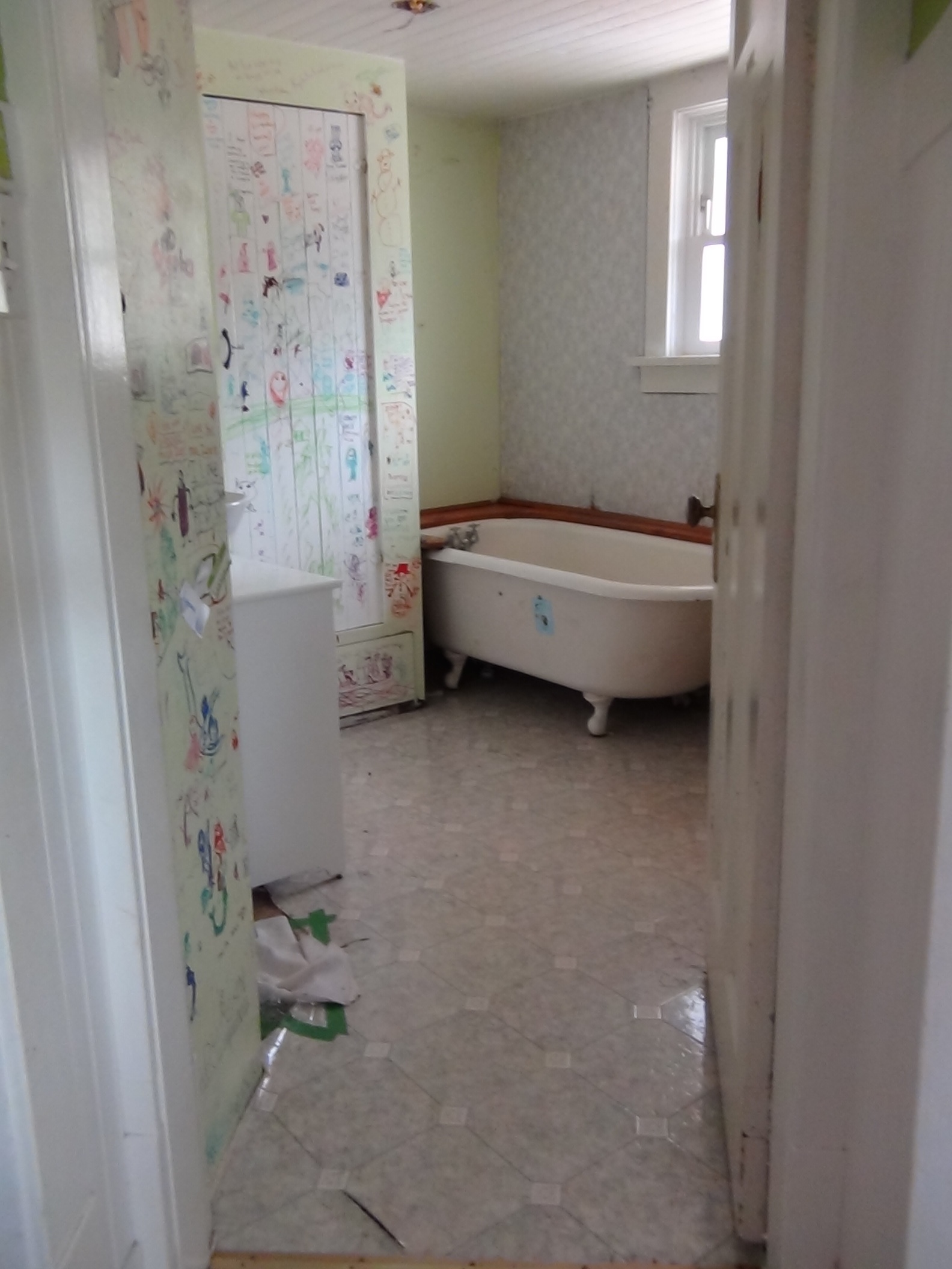 The Bathroom Where It All Started.