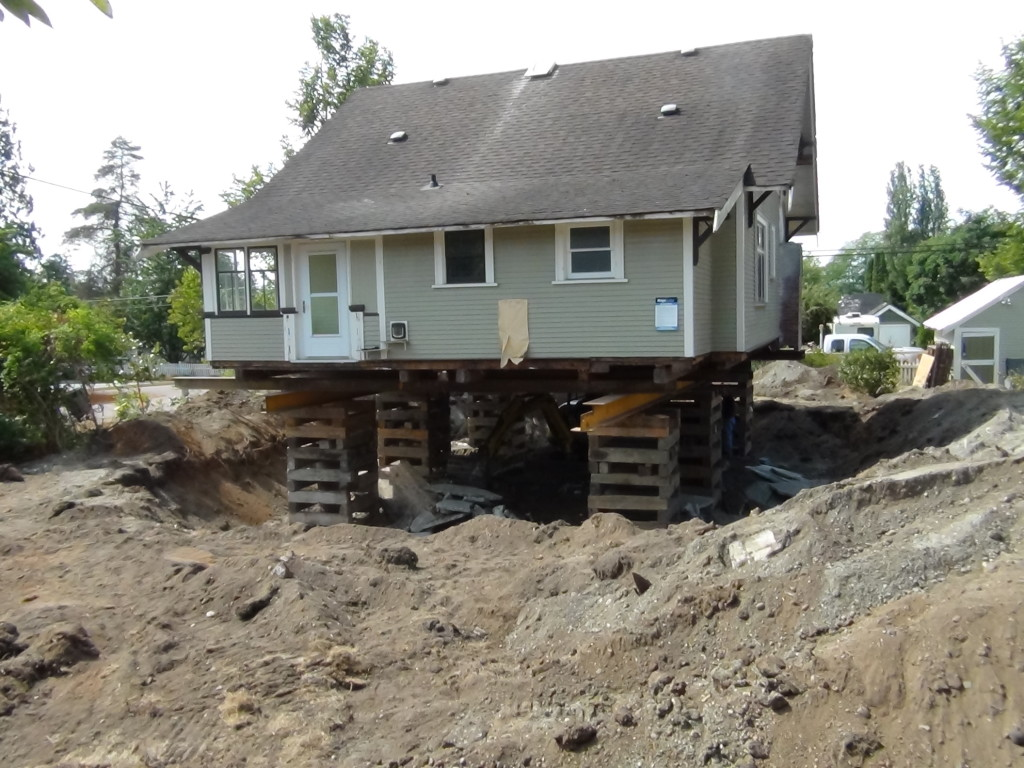 Heritage  Page   Hammond Forever House - Digging basement cost